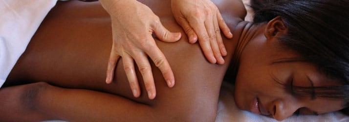 Massage Vernon BC Woman Receiving Massage